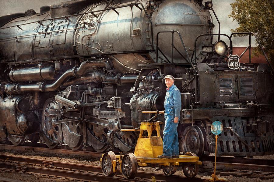 Locomotive - The Gandy Dancer  Photograph