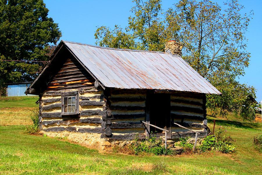 Log Cabin Photograph By Kathryn Meyer