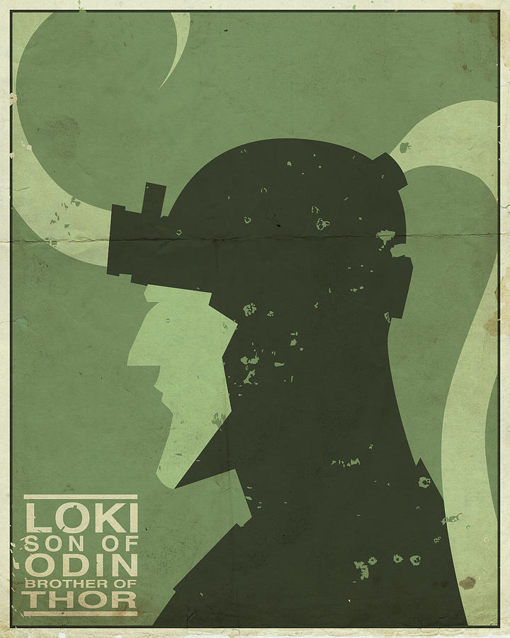 Loki - Son Of Odin Digital Art  - Loki - Son Of Odin Fine Art Print