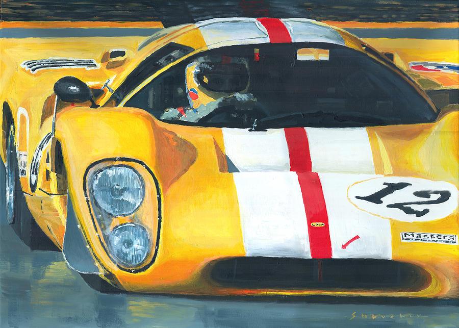 Lola T70 Mkiii/b 1969/1970 Season Cars Sebring Le Mans Painting
