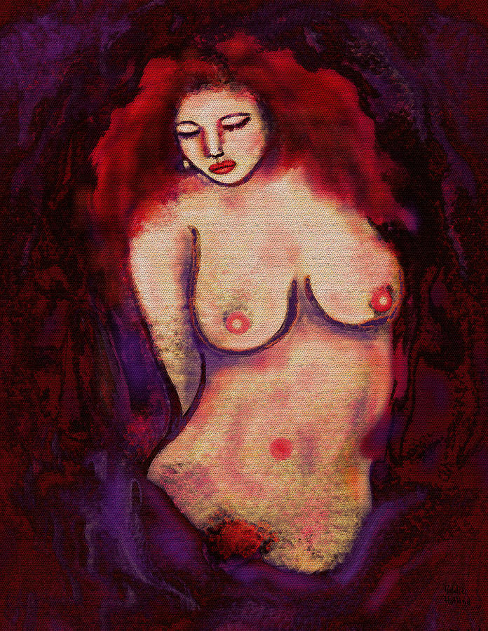 Lolita Mixed Media  - Lolita Fine Art Print