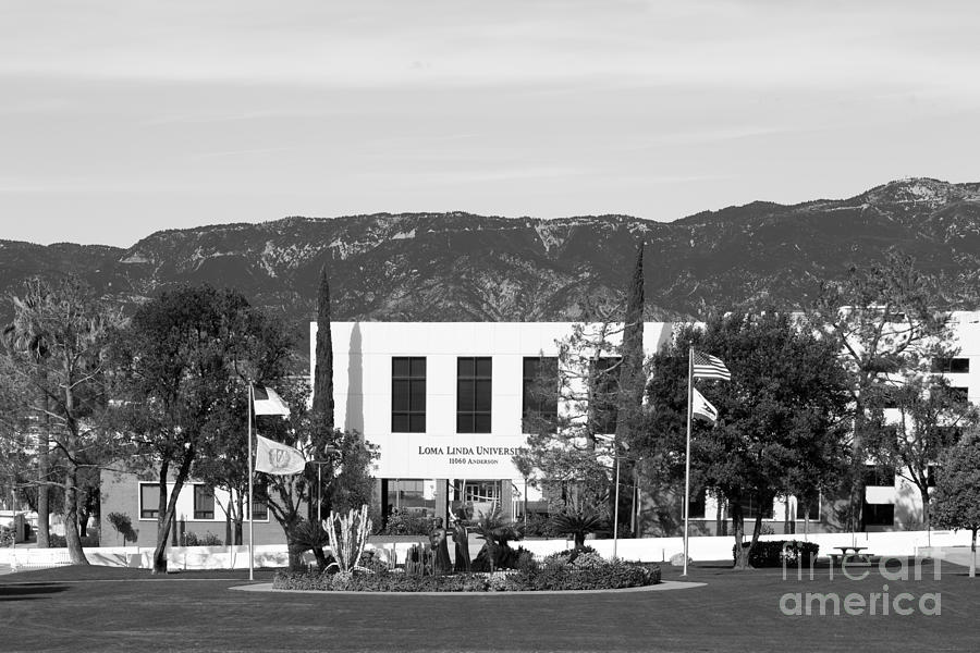 Loma Linda University Prince Hall Photograph  - Loma Linda University Prince Hall Fine Art Print