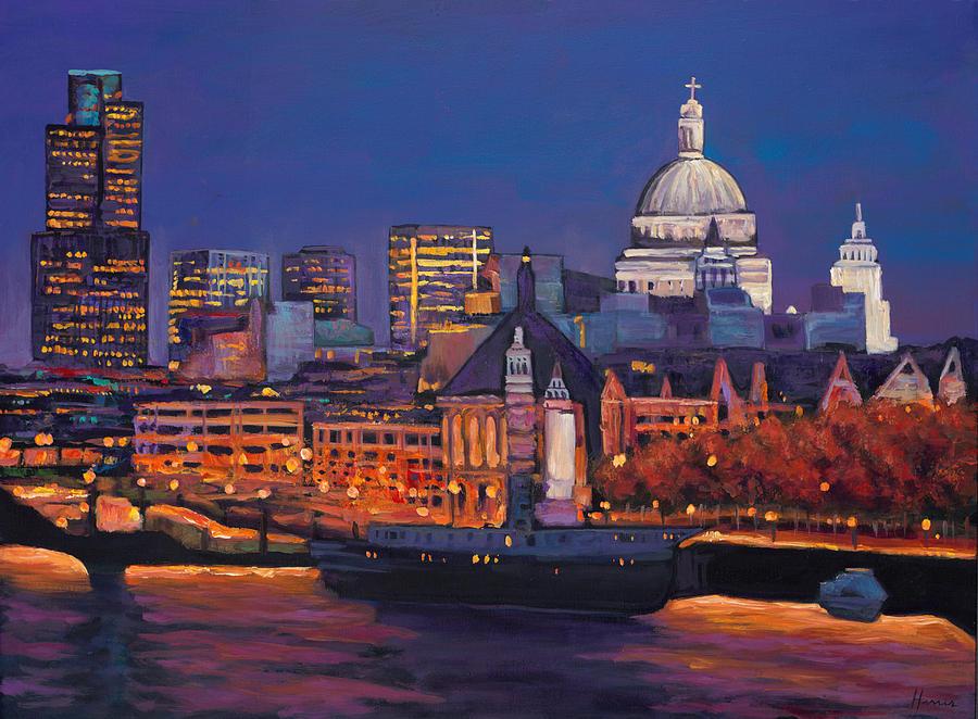London Calling. Autumn Painting