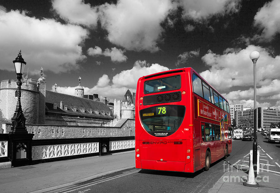 London Life Photograph  - London Life Fine Art Print