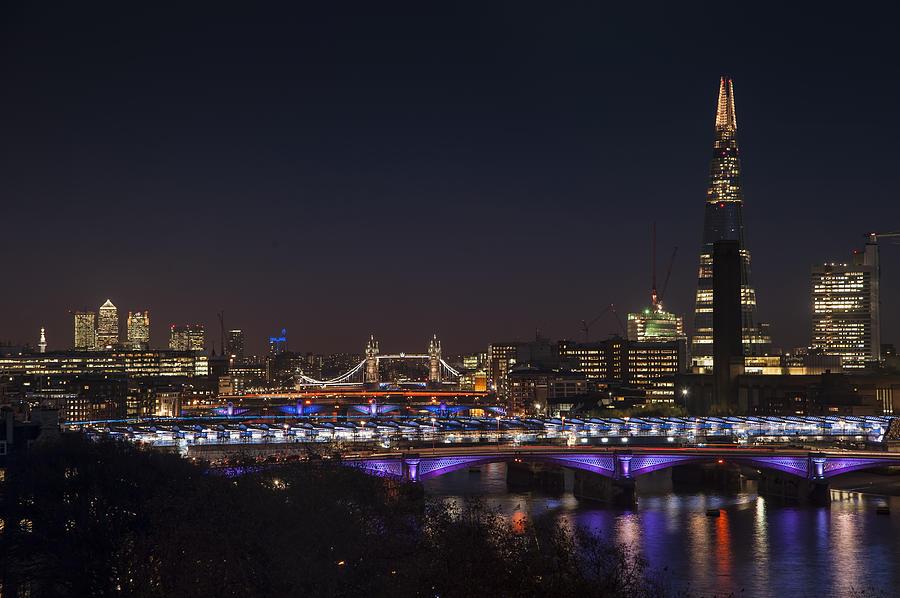 Image Gallery london skyline night