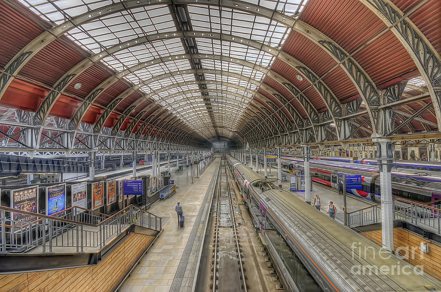 London Paddington  Photograph  - London Paddington  Fine Art Print