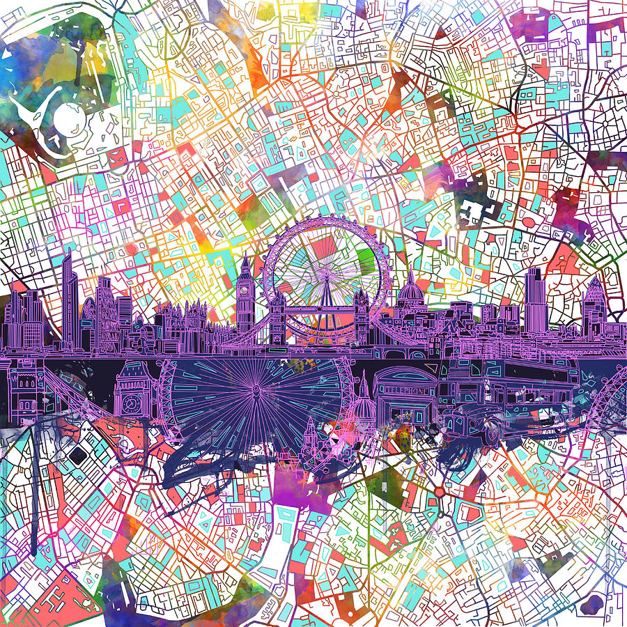 Winter Piece John Robichaud additionally Rainy Day In The City Tom Shropshire together with 683632418405507143 likewise London Skyline Abstract Mb Art Factory in addition River By The City Maximo Pizarro. on radio city painting