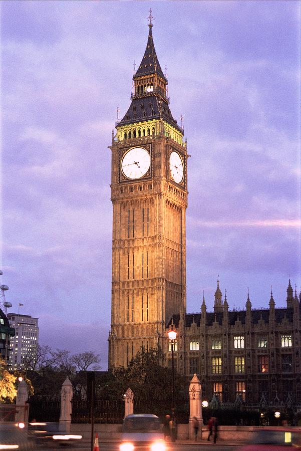 London Time Photograph by Lucia Vicari