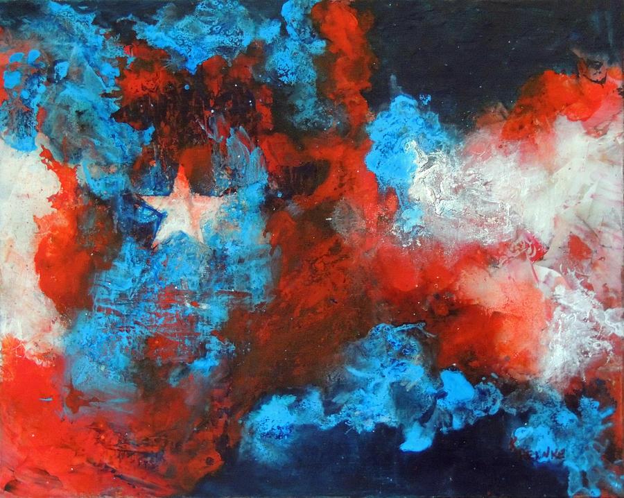 lone star painting by kay reinke