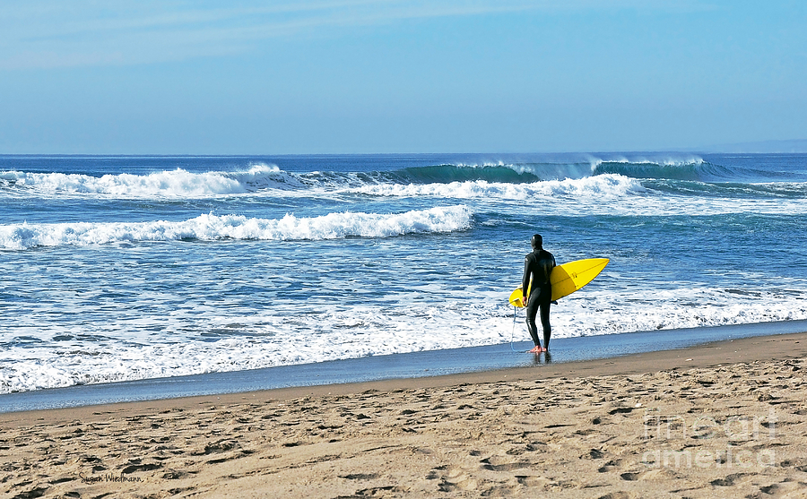 Lone Surfer Photograph