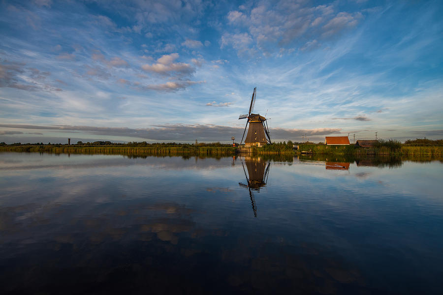 Lone Windmill Photograph