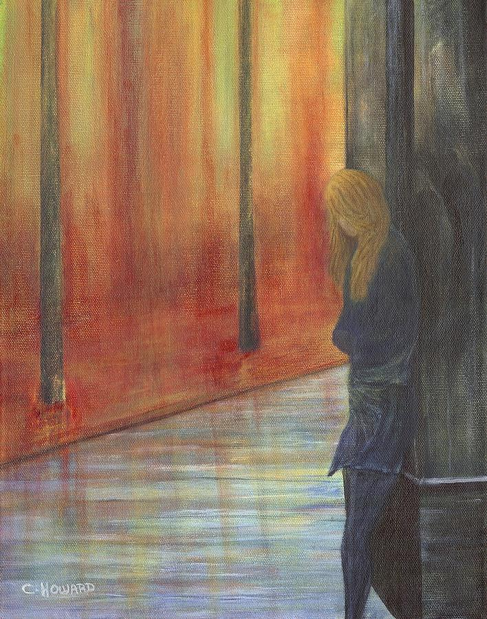 Lonely Street Painting  - Lonely Street Fine Art Print