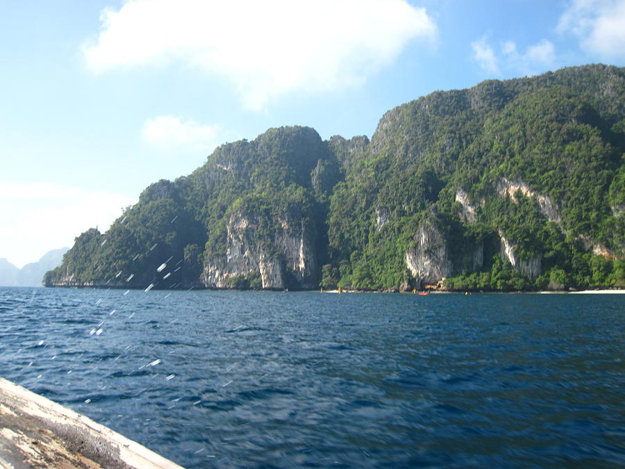 Long Boat Tour - Phi Phi Island - 011312 Photograph  - Long Boat Tour - Phi Phi Island - 011312 Fine Art Print