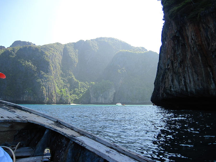 Long Boat Tour - Phi Phi Island - 011394 Photograph  - Long Boat Tour - Phi Phi Island - 011394 Fine Art Print