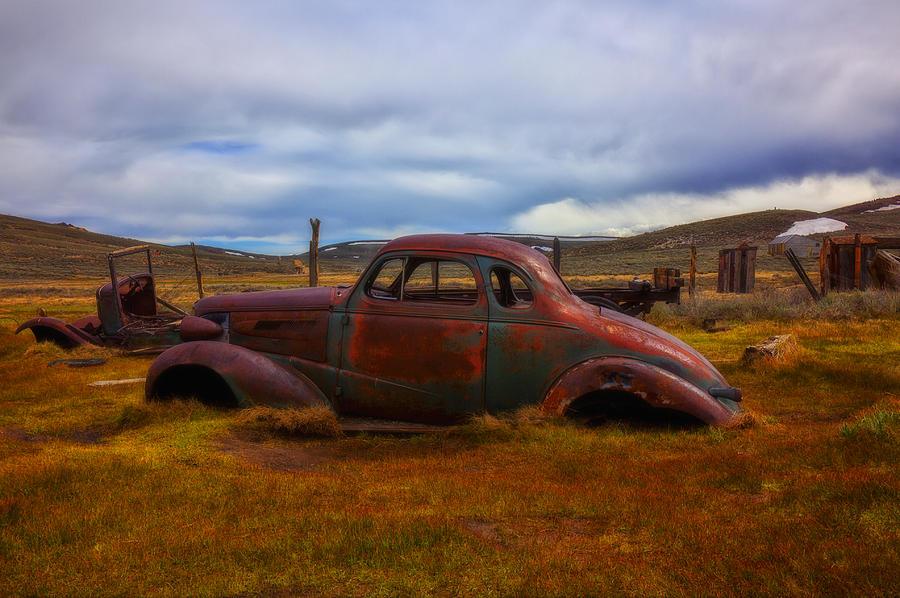 Car Photograph - Long Forgotten by Garry Gay