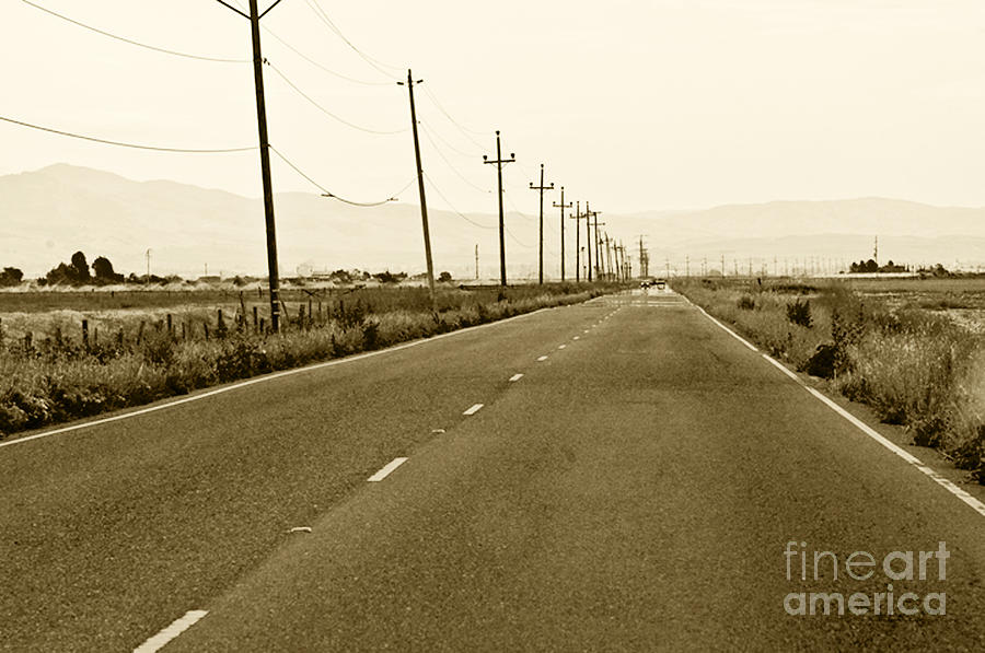 Long Road Home Photograph