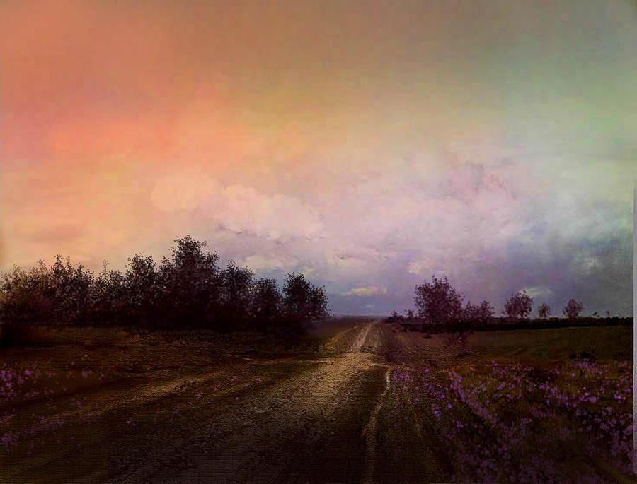 Long Road Digital Art