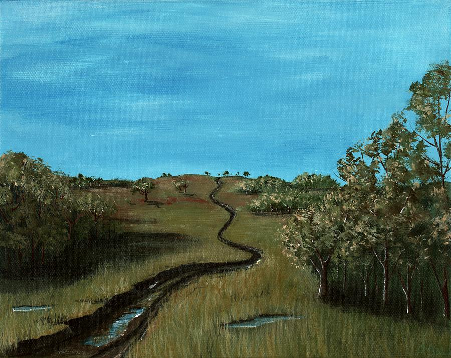 Long Trail Painting  - Long Trail Fine Art Print