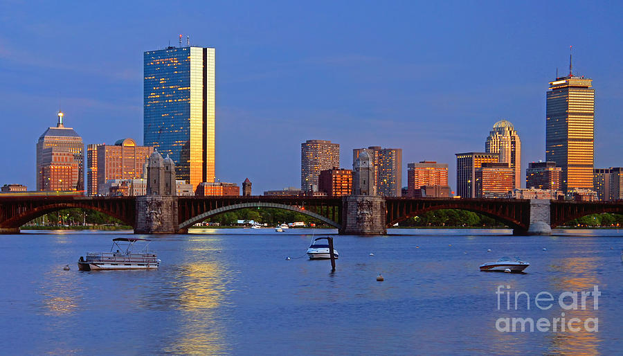Longfellow Bridge Photograph