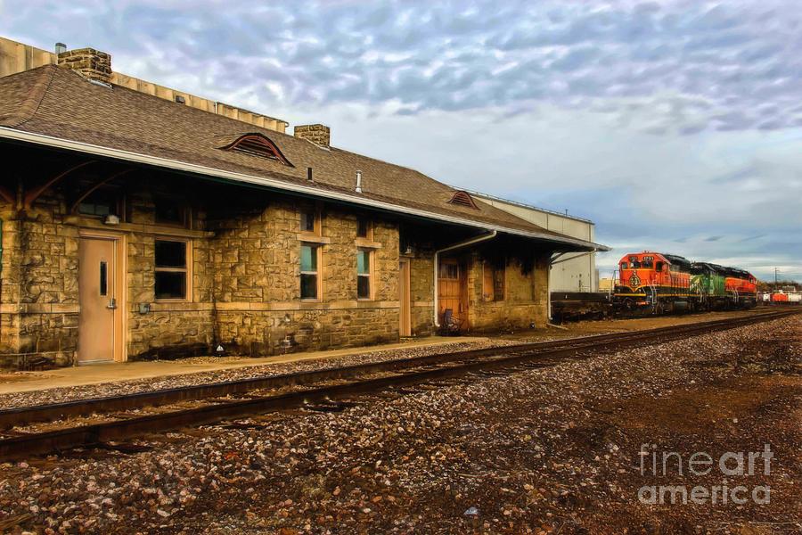 Longmont Depot Photograph