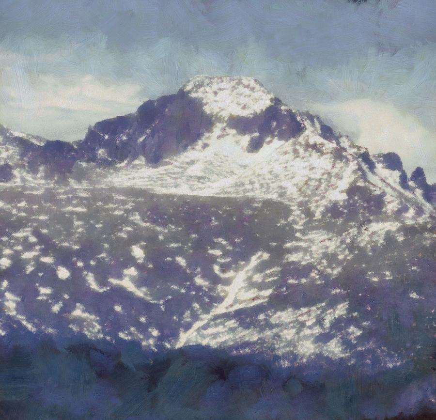 Longs Peak Painting