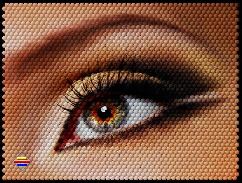 Eyes Digital Art - Look At Me by Vidka Art