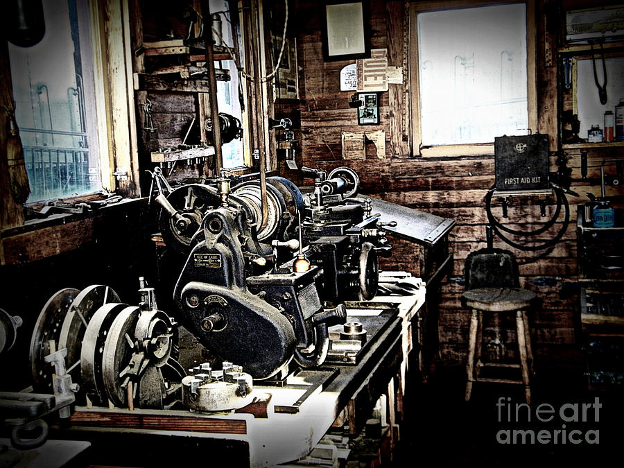 Look Into The Shop Photograph