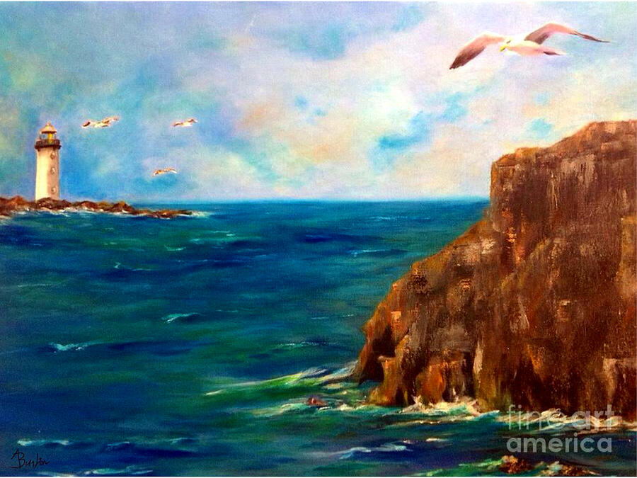 Look Out Point Painting  - Look Out Point Fine Art Print