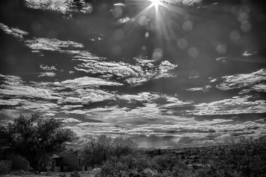 Tucson Photograph - Look To The Western Sky by Judi FitzPatrick