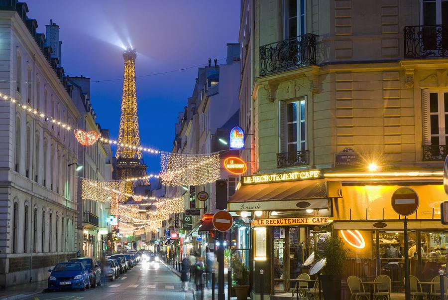 Cafe Rue St Dominique Paris
