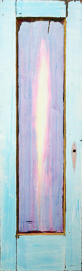 Looking Within Door Painting  - Looking Within Door Fine Art Print