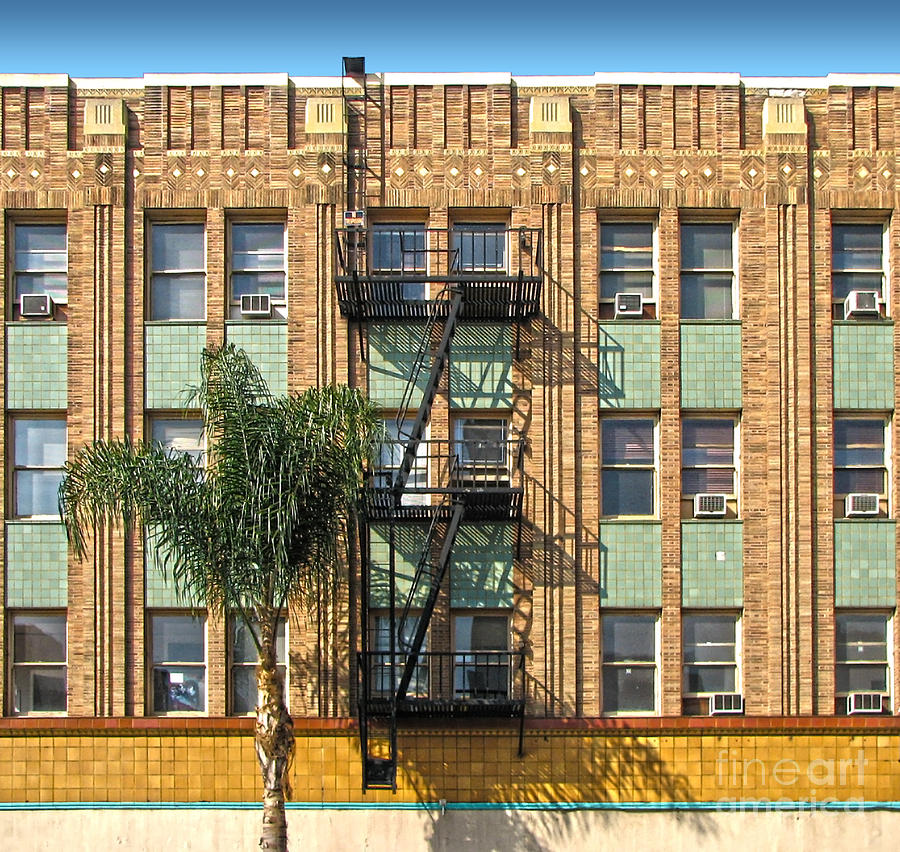 Los Angeles Facade Photograph