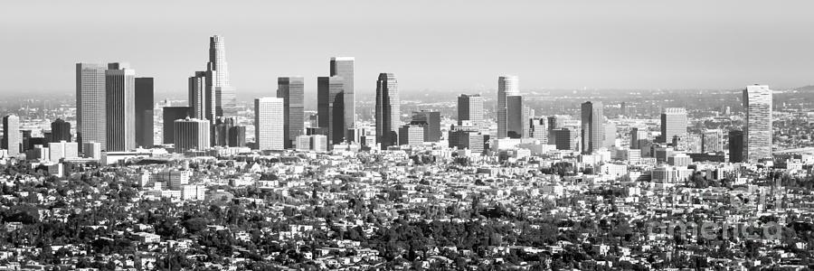 Los Angeles Skyline Panorama Photo Photograph