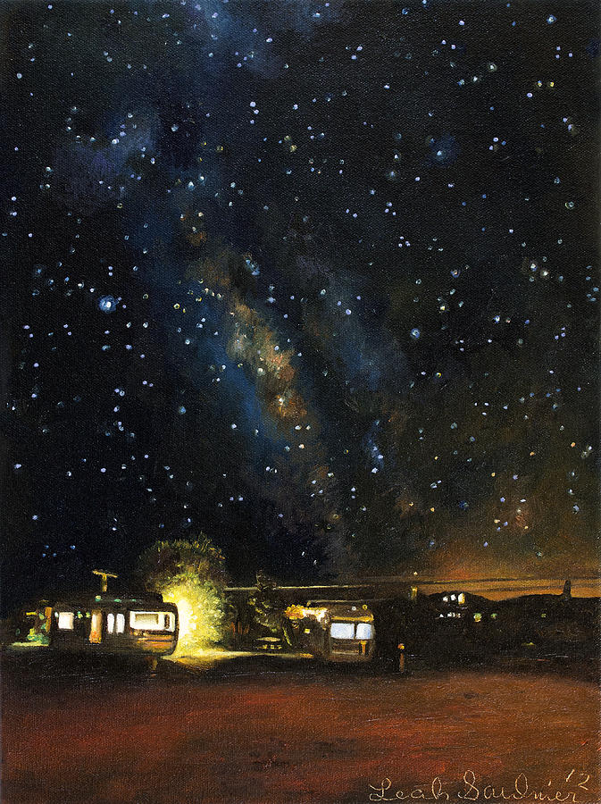 Los Rancheros Rv Park Painting