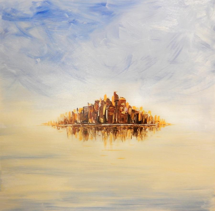 Lost City Painting