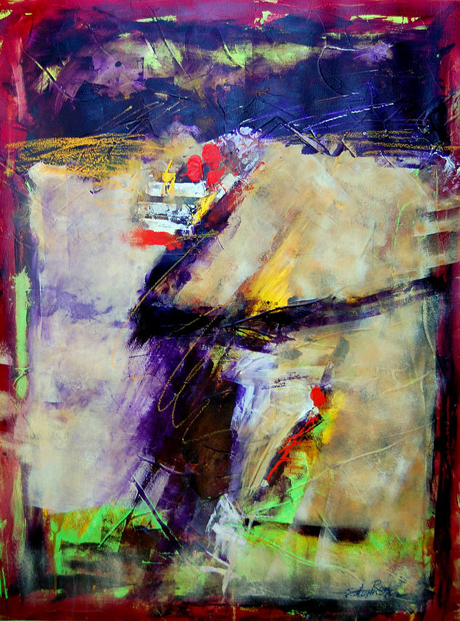 Abstract Painting - Lost Horizons by Ron Stephens