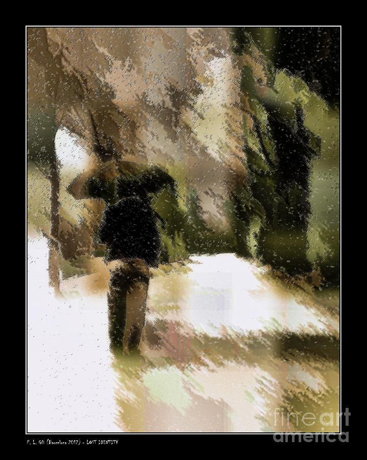 Lost Identity Digital Art