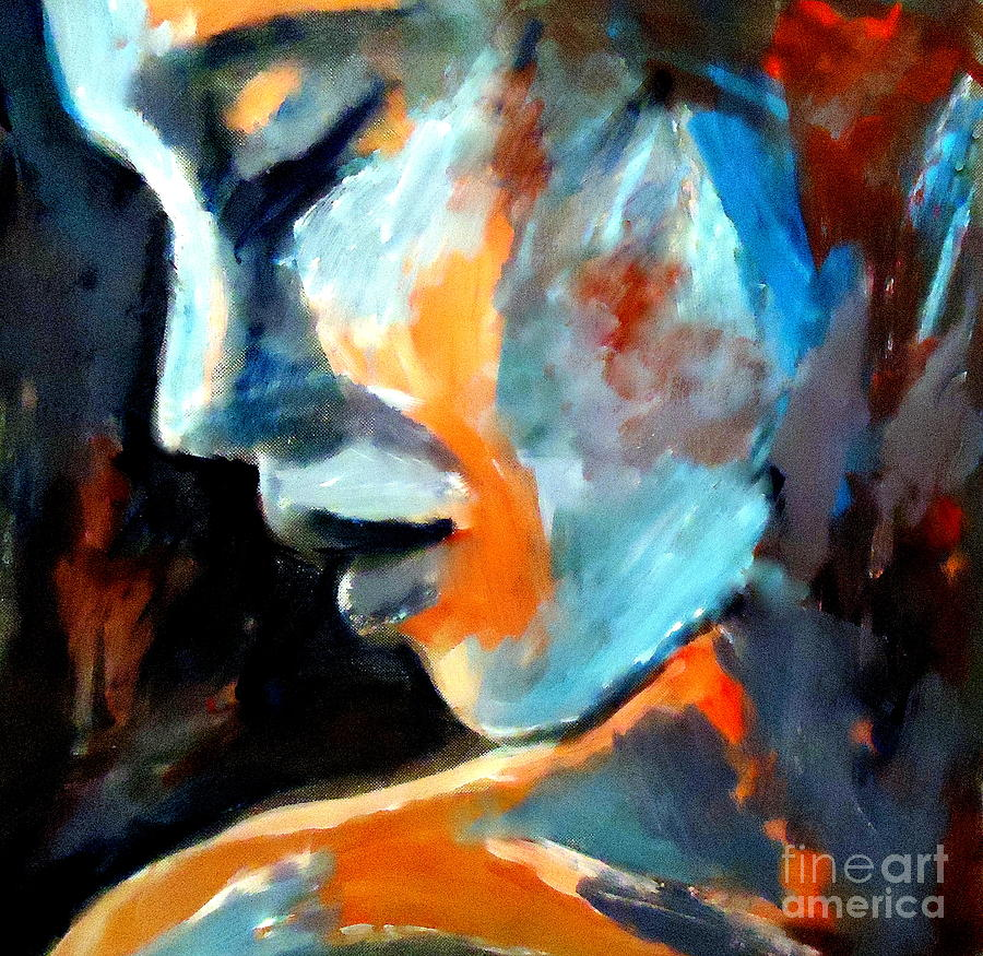 Affordable Original Paintings Painting - Lost In Time by Helena Wierzbicki