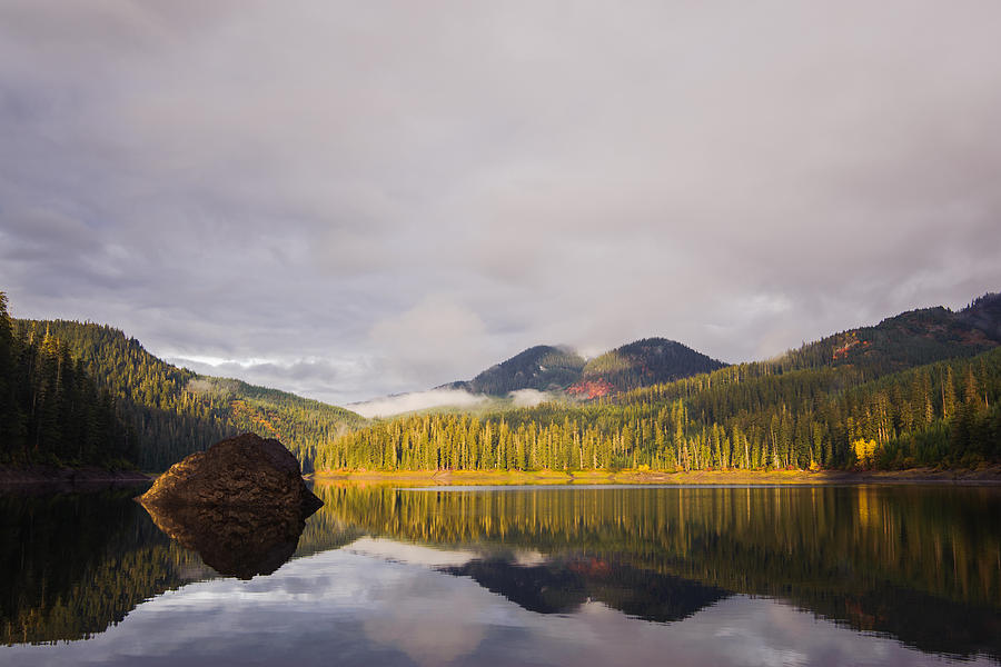 Lost Lake  Kittitas County  Washington  October 2013