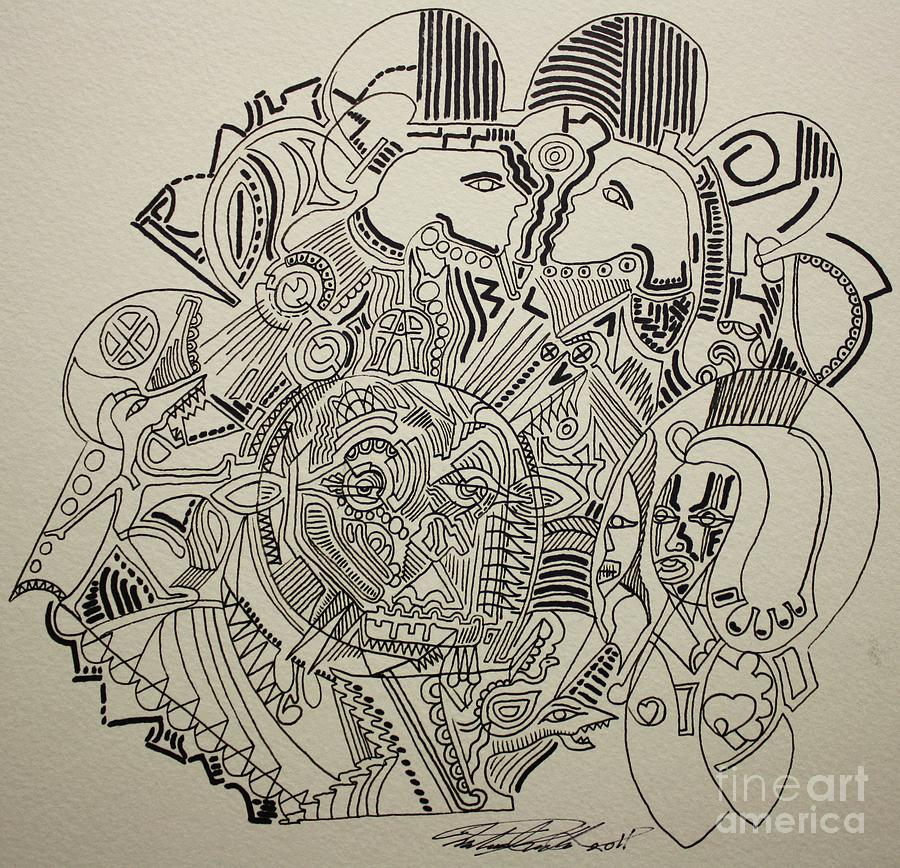 Lost Drawing  - Lost Fine Art Print