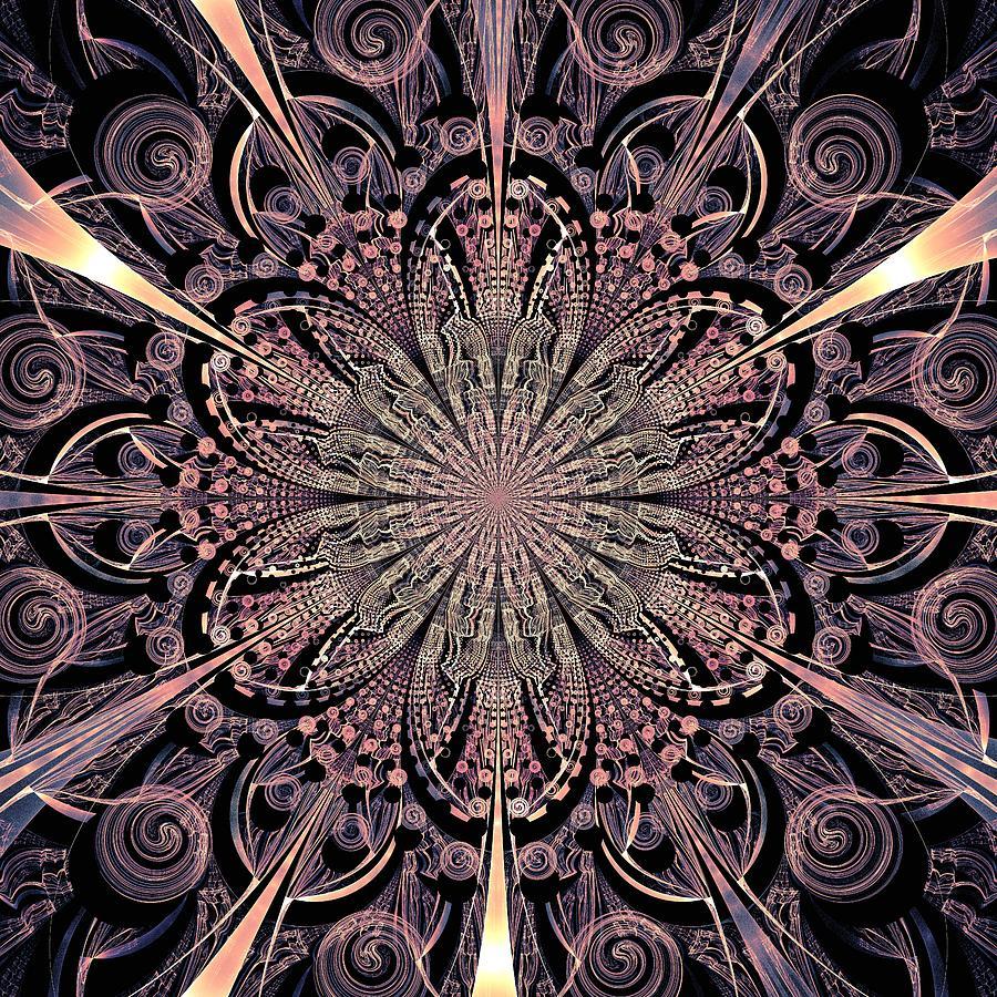 Lotus Digital Art - Lotus Gates by Anastasiya Malakhova