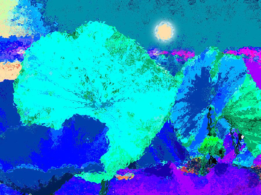 Lotus Sleeping Digital Art