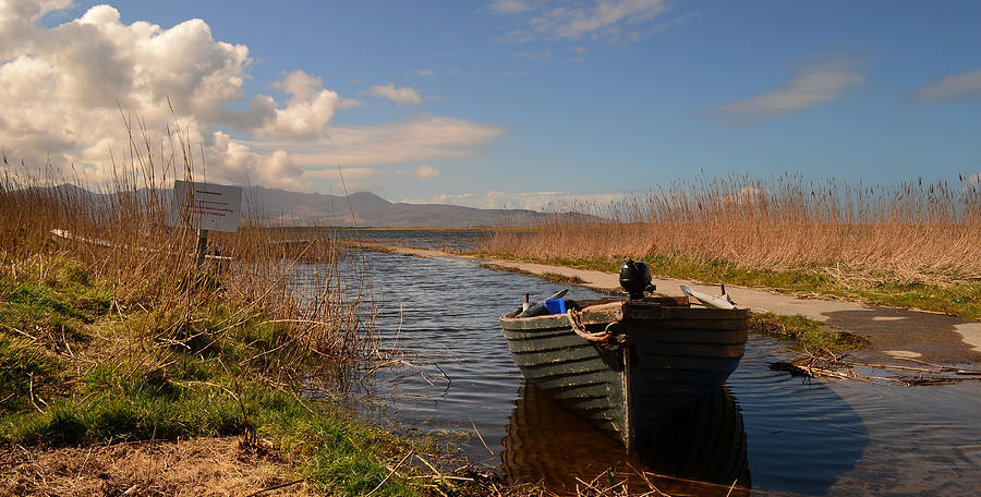 Lough Gill Photograph - Lough Gill In Co.kerry by Barbara Walsh