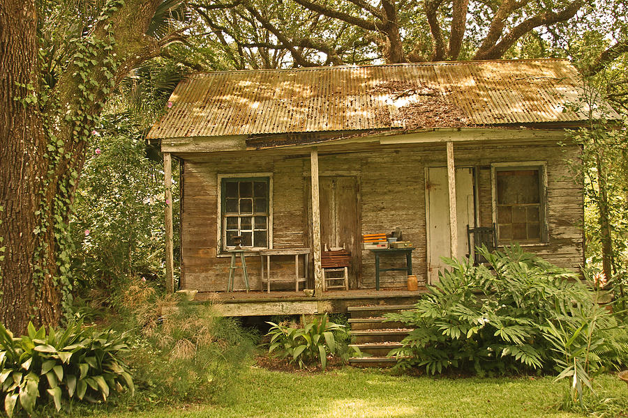 Louisiana Acadiana Home Photograph By Ronald Olivier