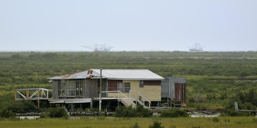 Louisiana fish camp photograph by bradford martin for Louisiana fishing camps