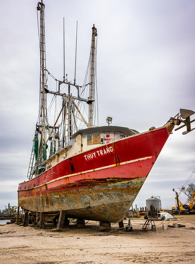 Louisiana Shrimp Boat 2 Photograph