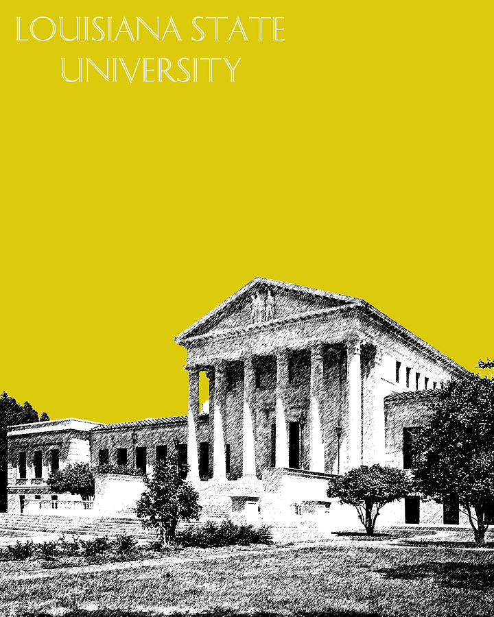 Louisiana State University 2 - Mustard Digital Art