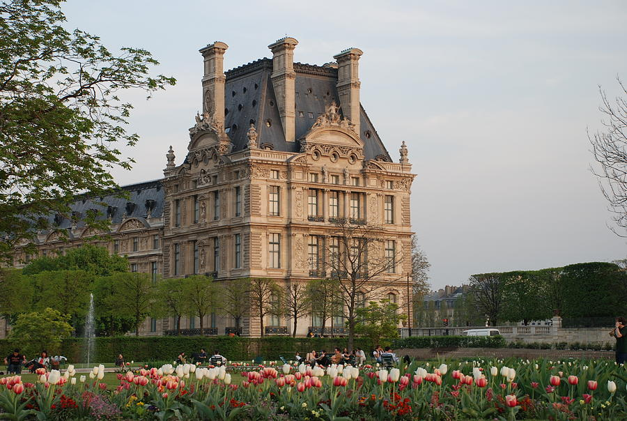 Louvre Photograph - Louvre Museum by Jennifer Ancker