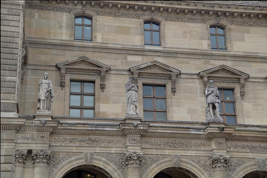 Louvre - Paris France - 01137 Photograph