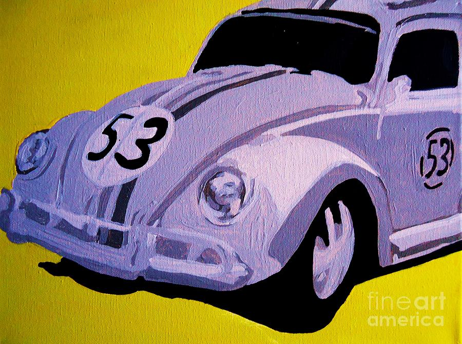 Love Bug Painting  - Love Bug Fine Art Print